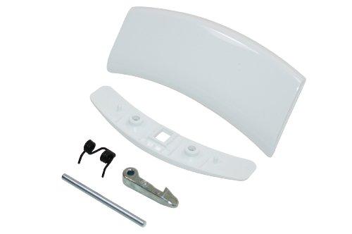 Electrolux Zanussi - Kit maniglia porta lavatrice, colore bianco, codice articolo originale 50292022006