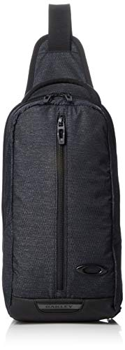 [オークリー] ボディバッグ ESSENTIAL SLING 3.0 BLACK HEATHER