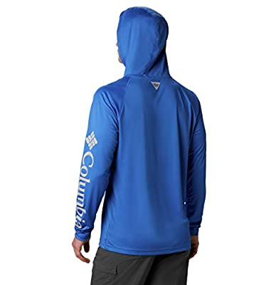Columbia Men's PFG Terminal Tackle Fishing Hoodie, Breathable, UV Sun Protection