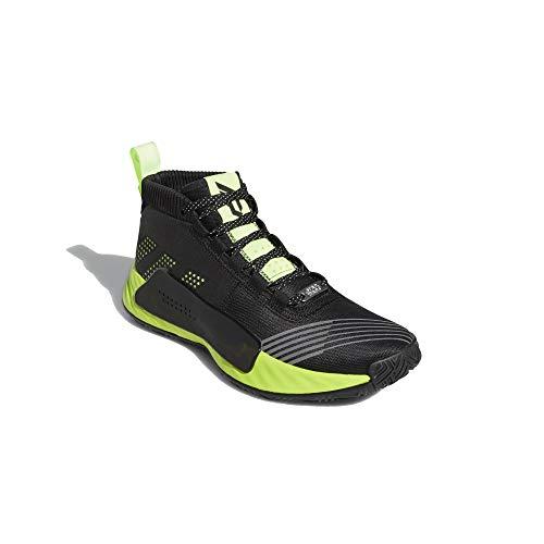 adidas Hombre Dame 5 - Star Wars Zapatos de Baloncesto Negro, 50 2/3