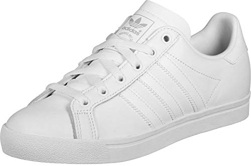 adidas Herren Coast Star Sneaker, Weiß (Footwear White/Footwear White/Grey 0), 43 1/3 EU