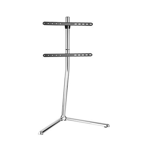 LogiLink BP0080 TV-Halterung Ständer (49-70 Zoll) V-Base, chrome