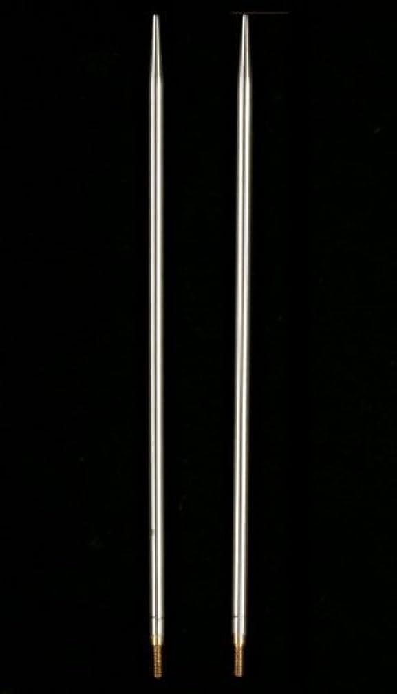 HiyaHiya Interchangeable Needle Tips 5-inch (13cm) Steel; Size US 3 (3.25mm) HISTINTIP5-3