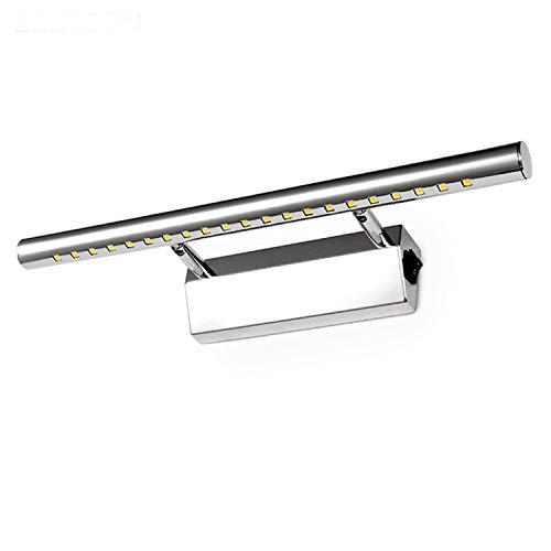 Luces LED Vanidad, cuarto de baño LED Espejo Luz AC220V/110V vanidad Fixtures Mini Estilo Lámparas LED de pared de luz con interruptor interior...