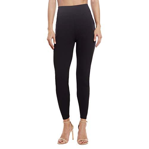 Leggings for Women - Premium Stretch Skinny Jeggings for Women - Women Jeggings Black Large