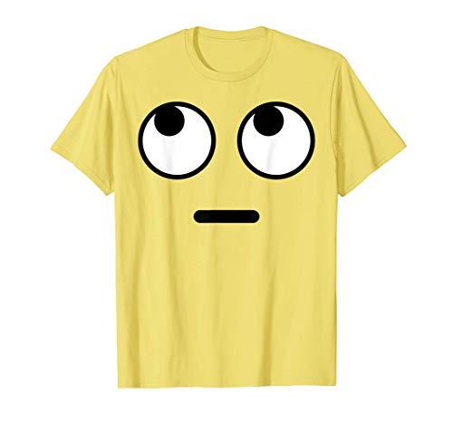 Halloween Emojis Costume Shirt Rolling Eyes Emoticon T-Shirt