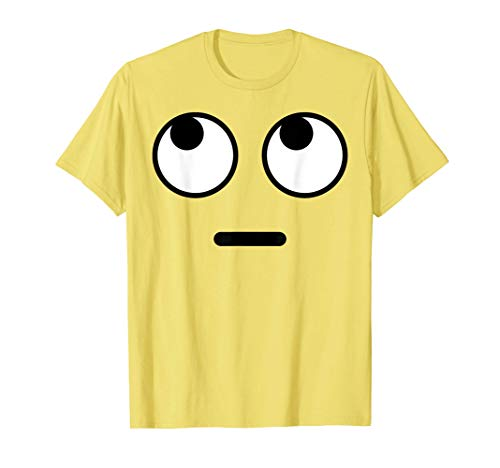 Halloween Emojis Costume Shirt Rolling Eyes Emoticon T-Shirt