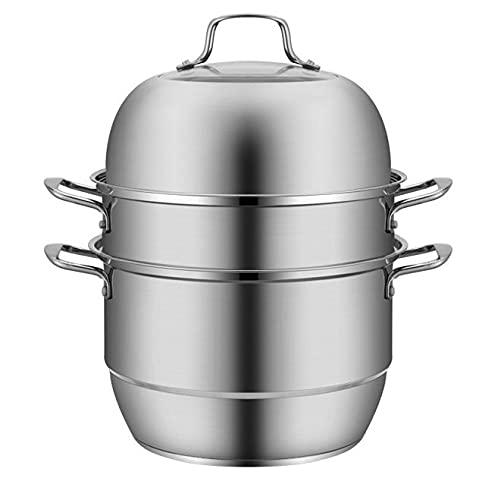 VONOTO Steamer for Cooking,Steamer Pot,8.5 Quart,Steamer cookware,Food Steamer,Stainless Steel