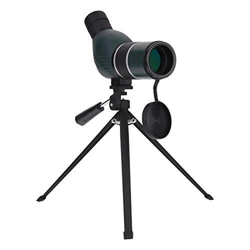 Elerose Telescopio Terrestre 12-36X 50mm Alto Rendimiento HD Impermeable Prisma Catalejo y Anti derrota con trípode(Angular)
