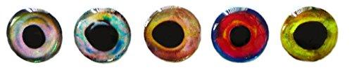 Brule 3-D Hard Epoxy Eyes (Combo2, 4mm)