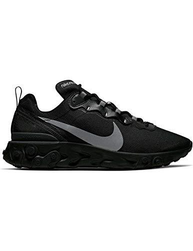 Nike React Element 55 Se, Zapatillas de Running para Hombre, Negro (Black/Anthracite 2), 42 EU