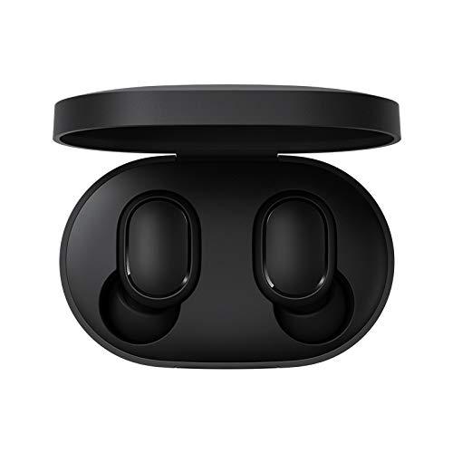 Xiaomi Redmi Airdots Bluetooth 5.0 Auricular Auriculares Inalámbricos con Caja de Carga de 300 mAh Sonido Estéreo Verdadero Mini Auriculares Inalámbricos IPX4 Control de Micrófono a Prueba de Sudo