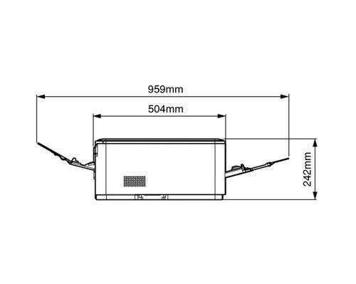 『OKI COREFIDO2 C312dn A4 カラー LEDプリンタ ( コンパクト / 自動両面印刷 / 5年無償保証 ) C312DN』の2枚目の画像