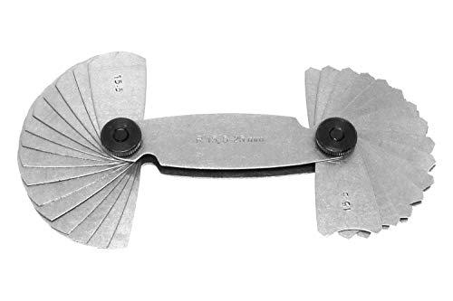 PAULIMOT Radienlehre R15,5 - R25 aus Federstahl