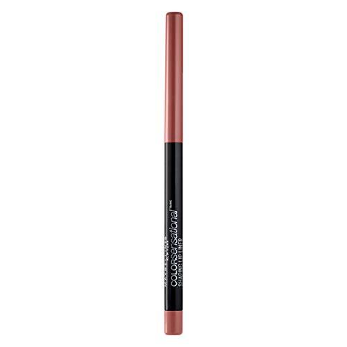 Maybelline New York Makeup Color Sensational Shaping Lip Liner, Magnetic Mauve, Mauve Lip Liner, 0.01 oz