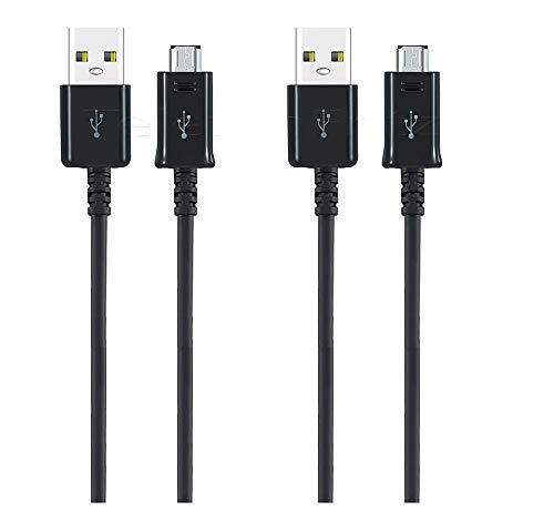 2x XXL 1.5m Micro USB Schnell Ladekabel Datenkabel für Original Samsung Galaxy S7/S7 Edge/ S6/S5/S4/ A2A01/A10/A10s/A10e/ M10/ A6, A6+ 2018 /A7 2018/ J4+/J6+ J3/J5/J7/ A3/A5/A7 / Xcover4/ 3/2