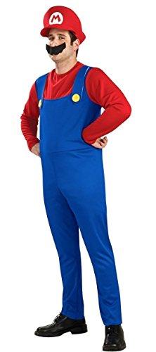 スーパーマリオブラザーズ マリオ 衣装 コスチューム メンズ