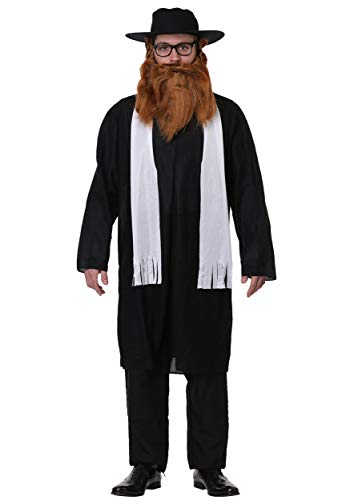 Adult Rabbi Fancy Dress Costume Standard