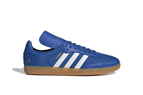 adidas Men's Oyster Holding Hands OG Shoes Blue/Cloud White/Gold Metallic F35093 (Size: 9)
