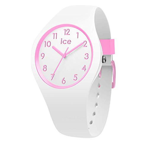 Ice-Watch - Ice Ola kids Candy Weiß - Girl's wristwatch mit Silikonarmband - 014426 (Small)