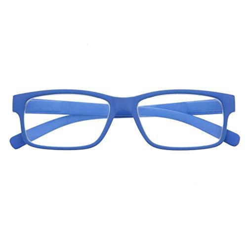 DIDINSKY Blaulichtfilter Brille für Damen und Herren. Blaufilter Brille mit stärke oder ohne sehstärke für Gaming oder Pc. Blendschutzgläser. Klein +2.5 – THYSSEN