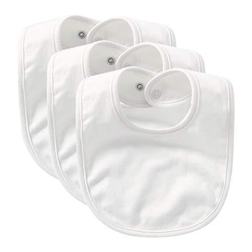 Yushu 3 Pz Neonato Bambino Bavaglini Tinta Unita Saliva Asciugamano Alimentazione Burp Panno Neonato Sciarpa Bambino Ragazza Ragazzo Alimentazione Grembiule Saliva Asciugamano