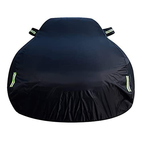 Old street Funda para Coche Impermeable Compatible con Lexus LX 570 SUV (2008-), Transpirable Resistente a Aranazos Cubierta para Coche con Tiras Rflectante y Bolsas de Almacenamiento