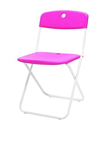 Trendyitalia Set 4 sedie pieghevoli Nina Fucsia