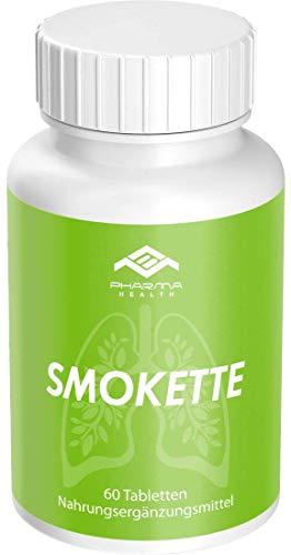 Endlich Nichtraucher | Mit dem Rauchen aufhören | Rezeptfrei | 100% natürlich | Smokette
