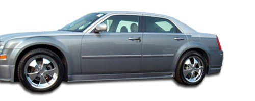 Extreme Dimensions Duraflex Replacement for 2005-2010 Chrysler 300 300C VIP Side Skirts Rocker Panels - 2 Piece