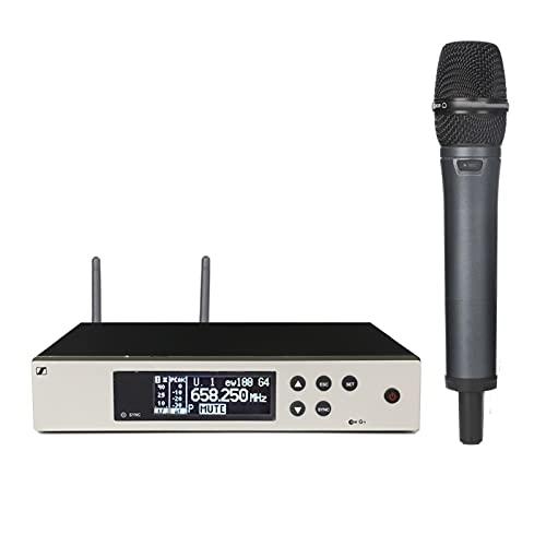 zunruishop Lautsprecher mit Mikrofon Drahtloses Mikrofonsystem Kapazitiver...
