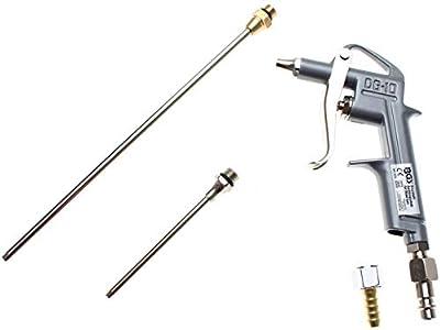 BGS 3215 | Pistola sopladora | aluminio fundido bajo presión | con 3 boquillas