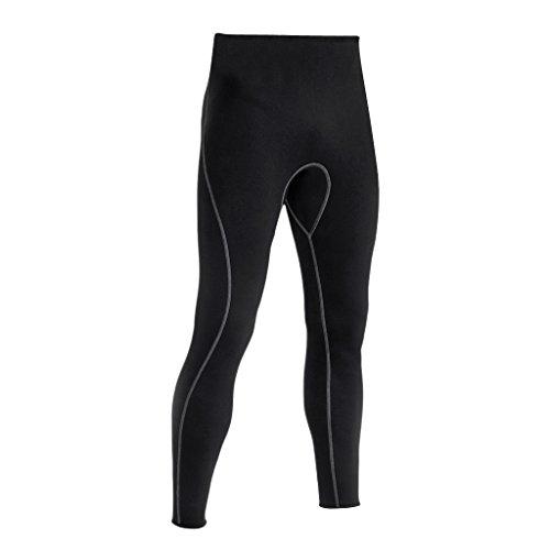 Pantalones para Hombre Traje de Neopreno 3 mm para Buceo Esnórquel Surf - XL
