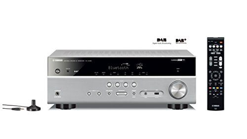 Yamaha RX-D485 AV-receiver (5.1 MusicCast, met wifi, Bluetooth en DAB-tuner) titanium