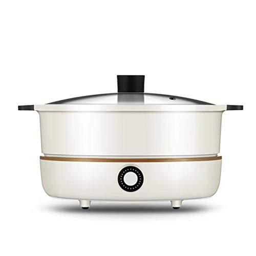 TSTYS Cocina de inducción del hogar 220V - Mini Desktop Induction HOB 2100W Multifuncional Pot de Cocina Inducción Independiente Pote Caliente (Color : White)