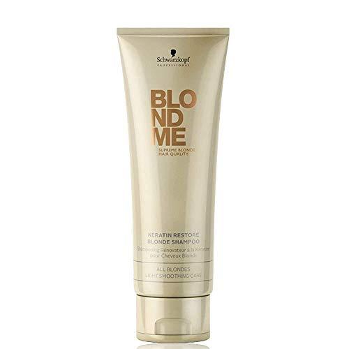 Schwarzkopf Professional BlondMe All Blondes Keratin Restore Blonde Shampoo 250ml