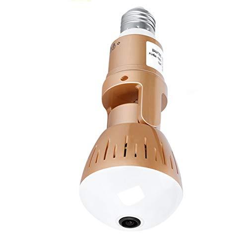 JINSE IP-camera, draadloos, 1080p en 360 graden, bewakingscamera, panorama, visoog, wifi, nachtzicht, CCTV P2P camera