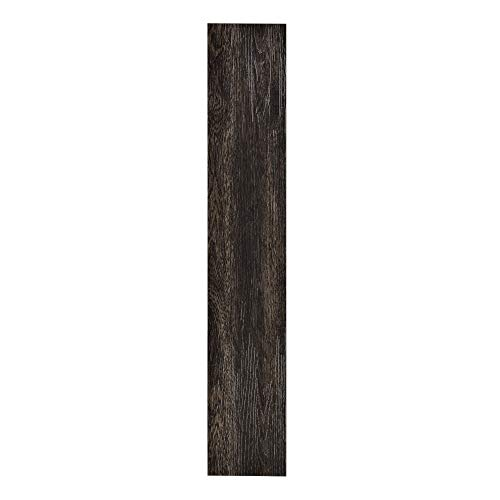 [neu.haus] Vinyl PVC floor covering 0,975 qm flooring highly textured decor planks wenge matte finished