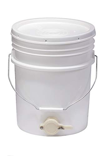 Buy Cheap Little Giant Plastic Honey Bucket Bucket with Honey Gate for Beekeeping (5 Gallon) (Item N...
