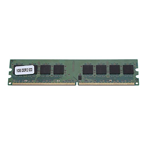 Price comparison product image DDR2 Memory Module, 533MHz Fast Data Transmission DDR2 Memory Module, Large 1GB 240 Pin DDR2 for AMD