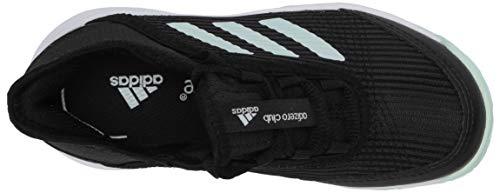 Product Image 5: adidas Unisex-Kid's Adizero Club Sneaker, core Black/Dash Green/FTWR White, 11K M US Big Kid