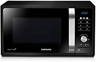 Samsung MS23F301TAK Encimera 23L 800W Negro - Microondas (Encimera, 23 L, 800 W, Botones, Giratorio, Negro, Retirable)