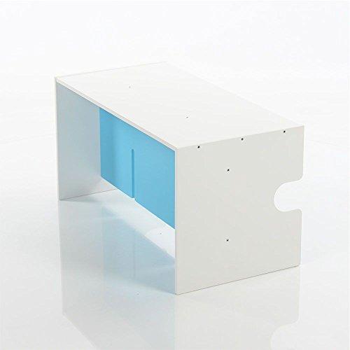 babybay Babycube Table/Banc Laqué Blanc 1 Unité