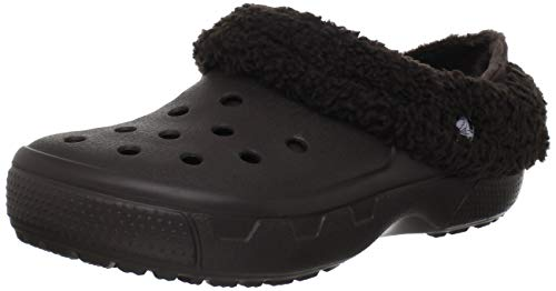 Crocs Mammoth Full Collar Sabot U, Unisex - Erwachsene Clogs & Pantoletten CR.12878, Braun (Espresso/Espresso 22Z), 48/49 EU