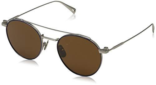 G-STAR RAW Sonnenbrille GS129S-045-51 Gafas de sol, Plateado (Silver), 51.0 para Hombre