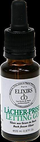 Elixirs & Co - Elixir Composé aux Fleurs de Bach Prêt à l'Emploi - Lâcher-prise - Les Fleurs de Bach - Bien être - Vegan - Bio - 100% Naturel - Made in France - 20ml