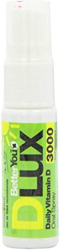 BetterYou D Lux 3000 Oral VIT D3 Spray - 15ml (Pack of 2)