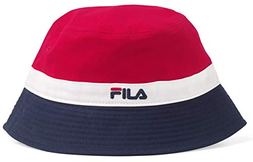 Fila Vintage Butler Retro Stripe Bucket Hat