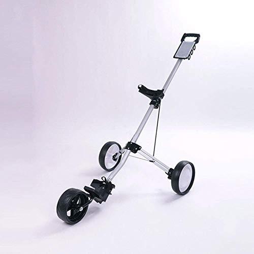 Carro de golf de empuje y tracción con ruedas Carro de golf...