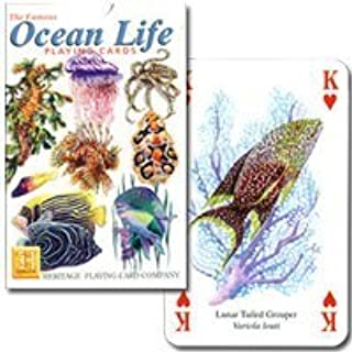 [World of colorful sea] Ocean Life P0040 (japan import) by Heritage Playing Card Company / U.K.